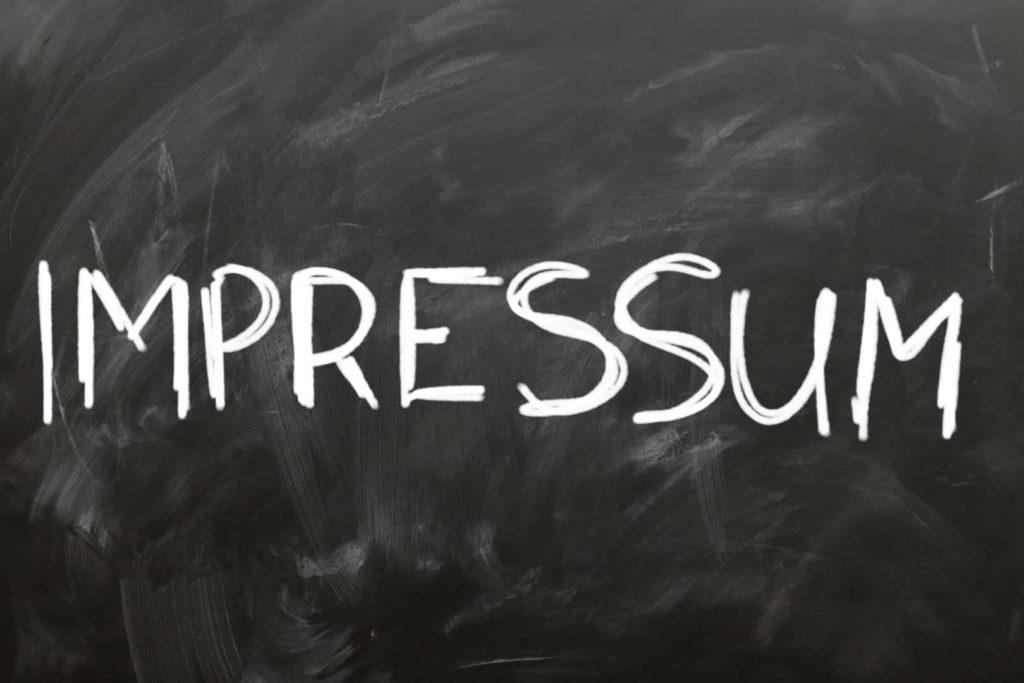 ÜBERSETZUNGEN VON RECHTSTEXTEN: Übersetzung vom Impressum