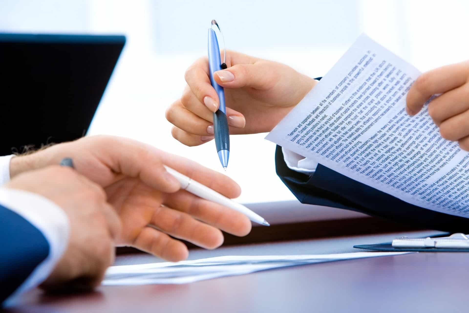 Juristische Übersetzungen, Übersetzung von juristischen Texten: Übersetzung von Verträgen und weiteren Vertragsunterlagen für Unternehmen